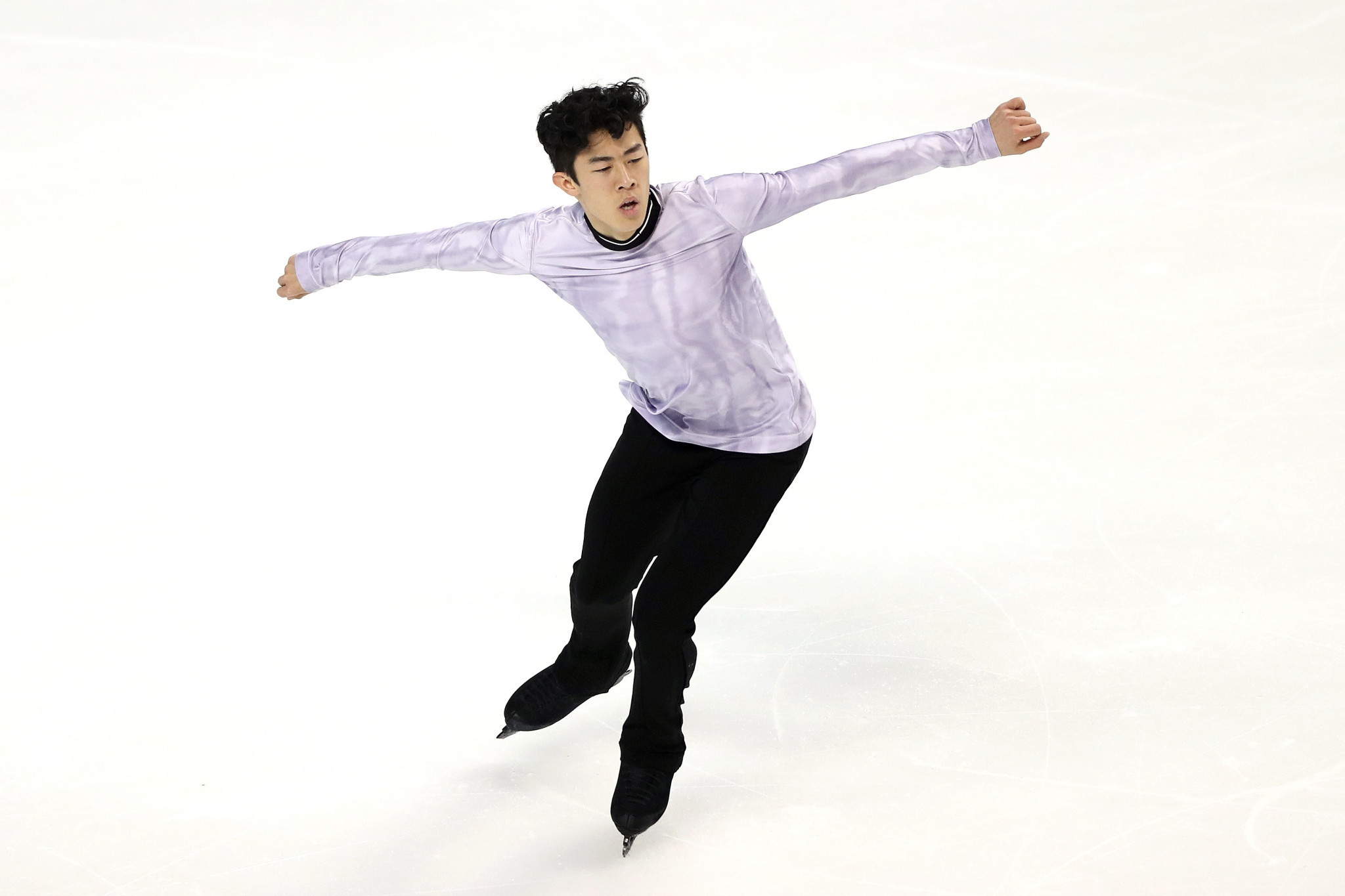 Nathan Chen submitted his figure skating programme for the 2020-21 season as part of an online competition ©Getty Images