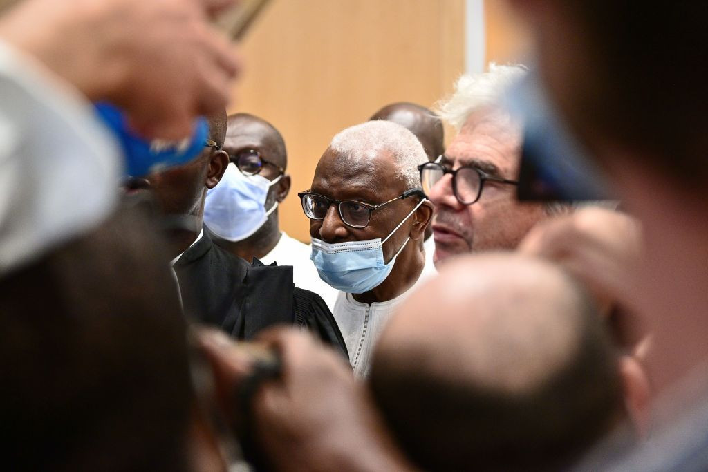 Lamine Diack back in French court as part of Olympic bid vote investigation
