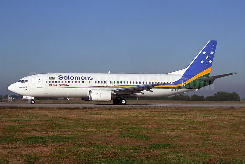 A flight carrying workers to help build facilities for the 2023 Pacific Games has arrived in the Solomon Islands ©Wikipedia
