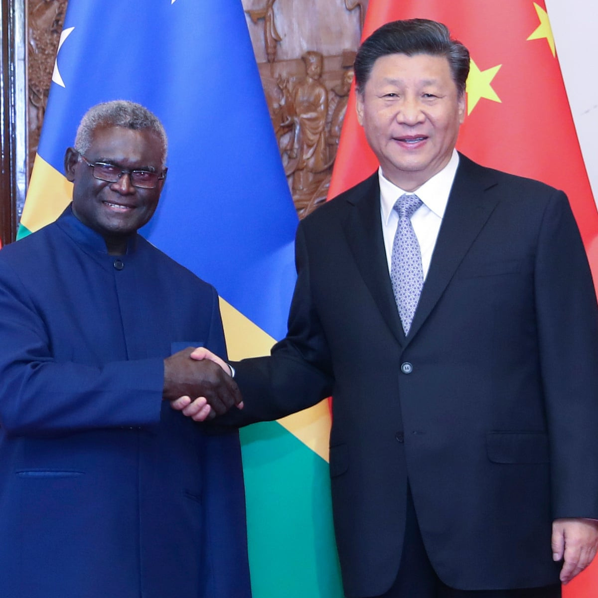There is growing opposition in the Solomon Islands at the decision of Prime Minister Manasseh Sogavare to cut ties with Taiwan to instead establish diplomatic relations with China ©Solomon Islands Government