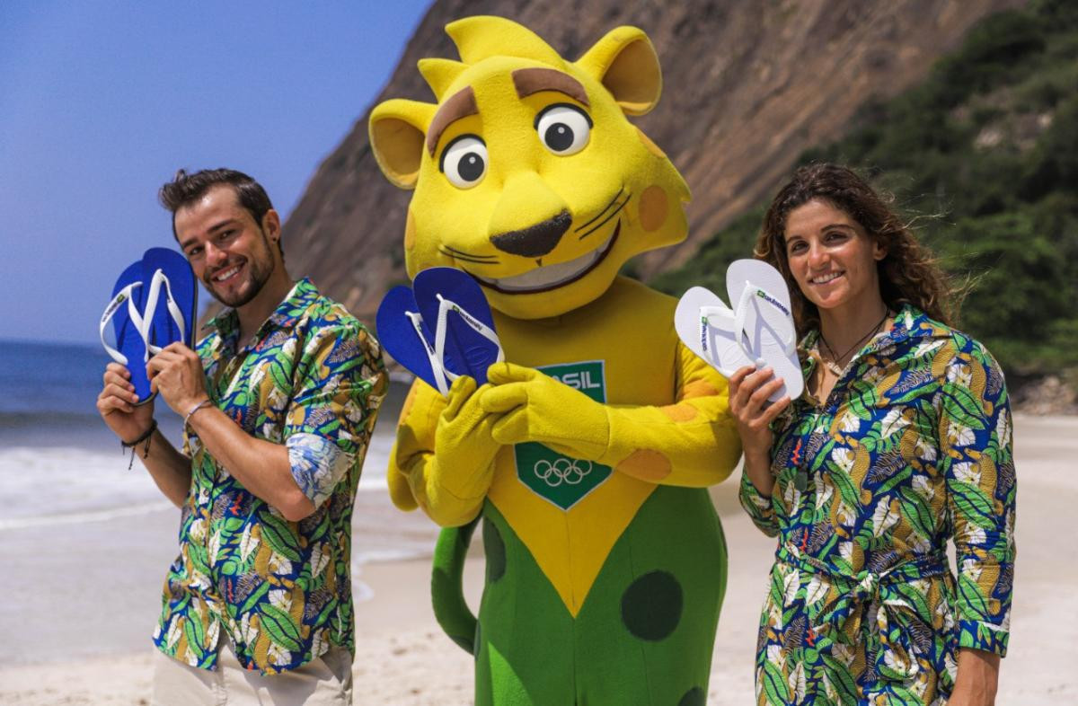 Brazil to parade in flip-flops during Tokyo 2020 Opening Ceremony after COB signs deal with Havaianas