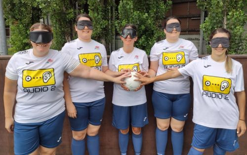 Austria has formally launched its women's blind football team ©IBSA