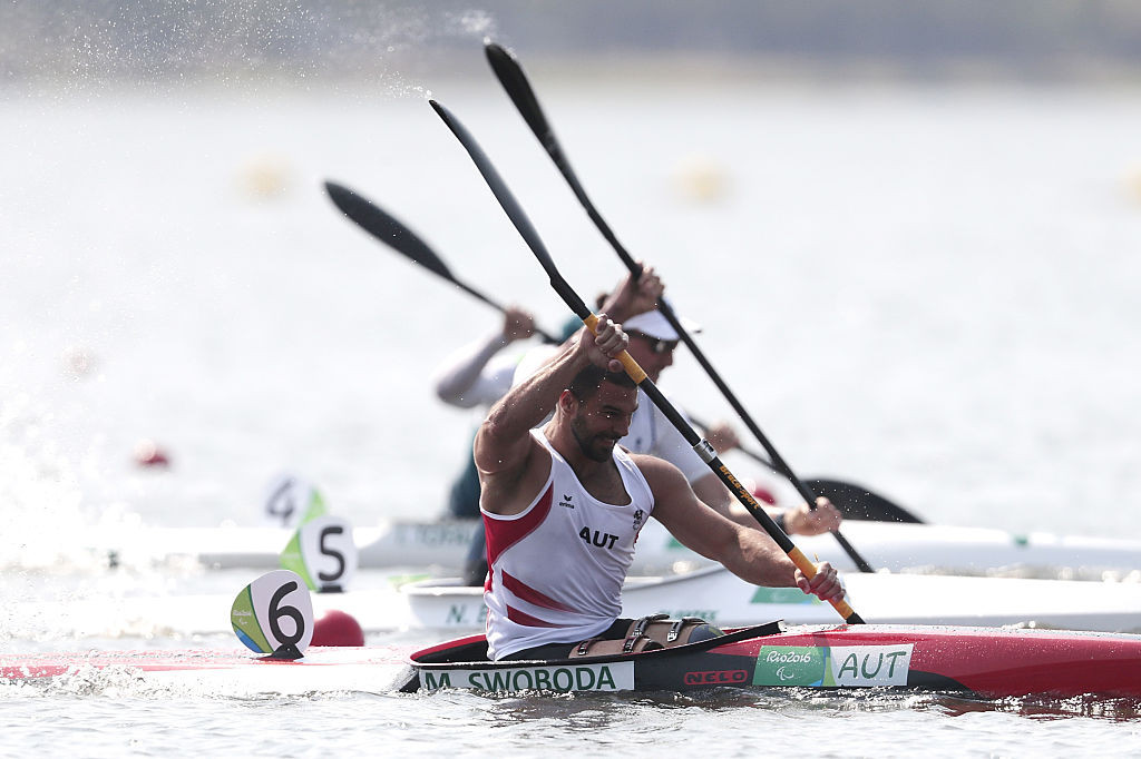 Swoboda clinches third gold at ICF Paracanoe World Cup