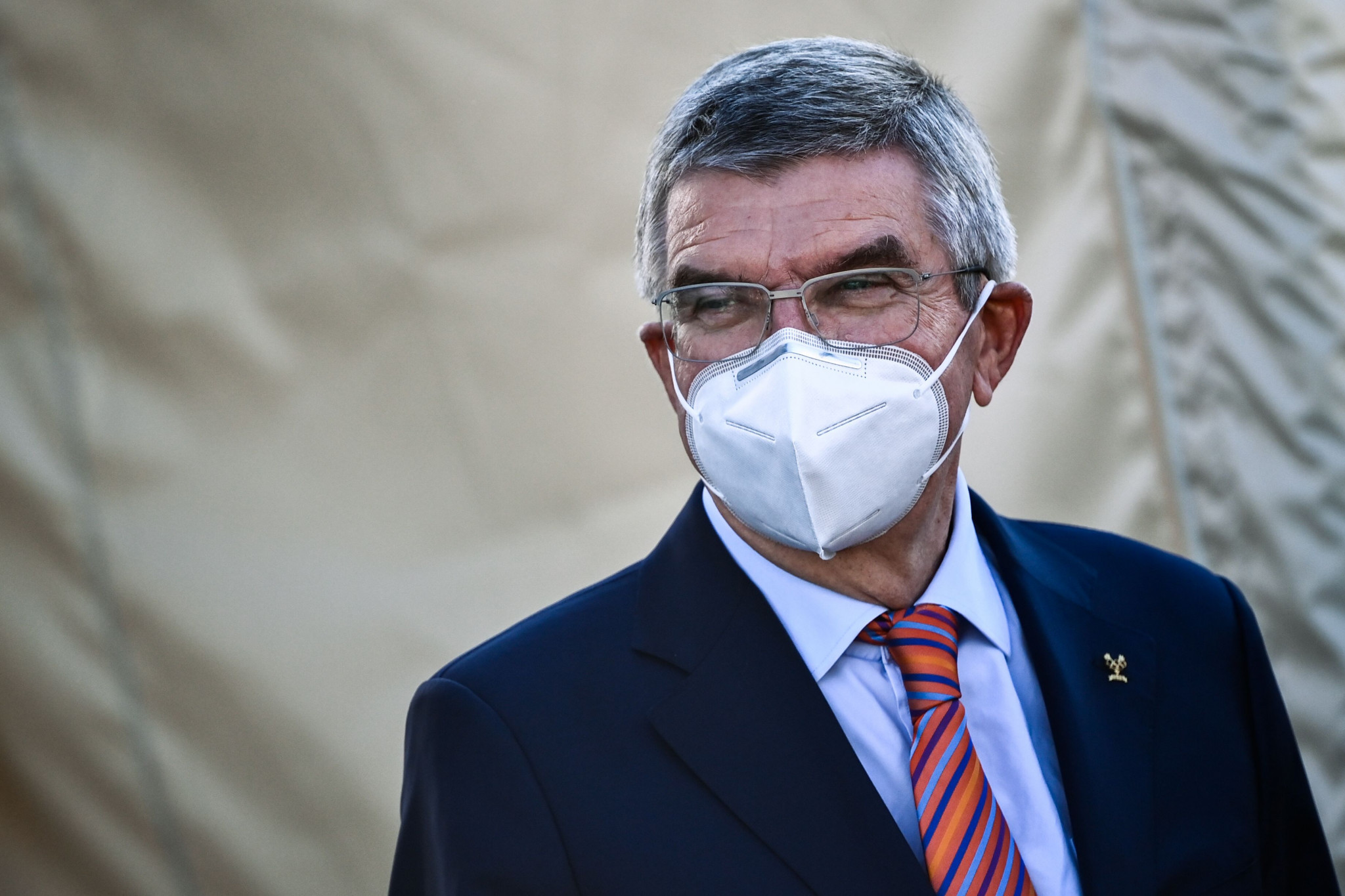 """Thomas Bach says """"a lot of confidence"""" can be taken from the successful return of cycling events ©Getty Images"""