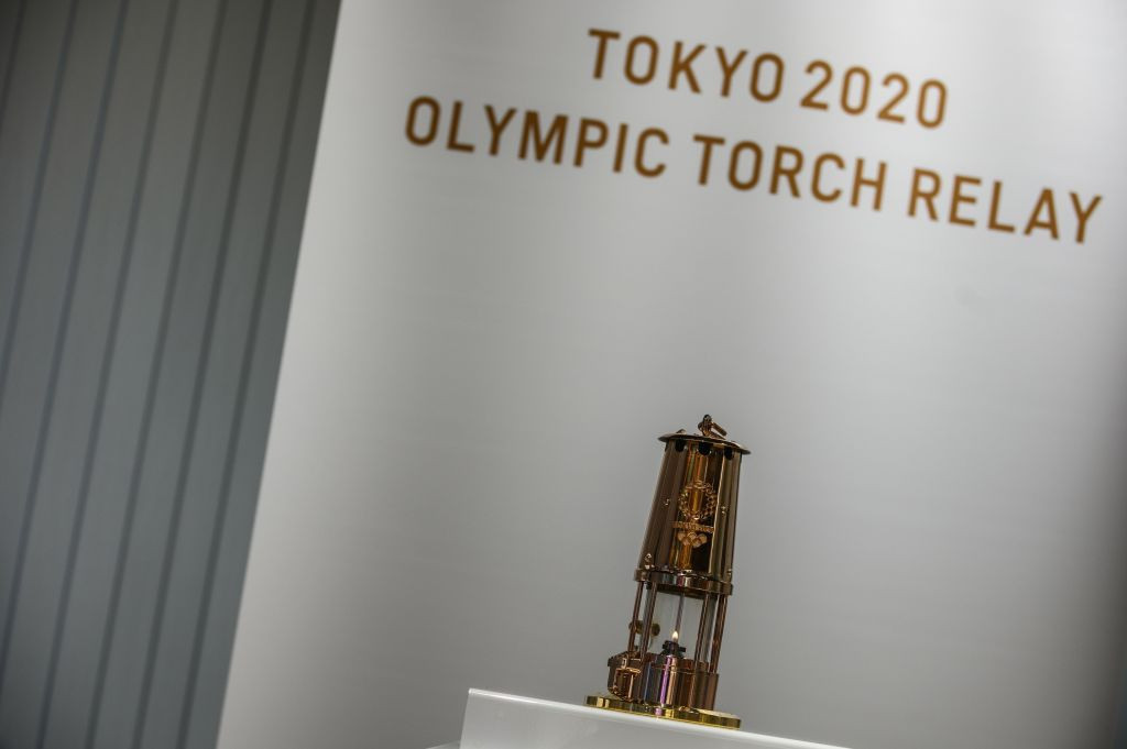 Tokyo 2020 has confirmed the schedule for the Olympic Torch Relay will remain as originally planned ©Getty Images