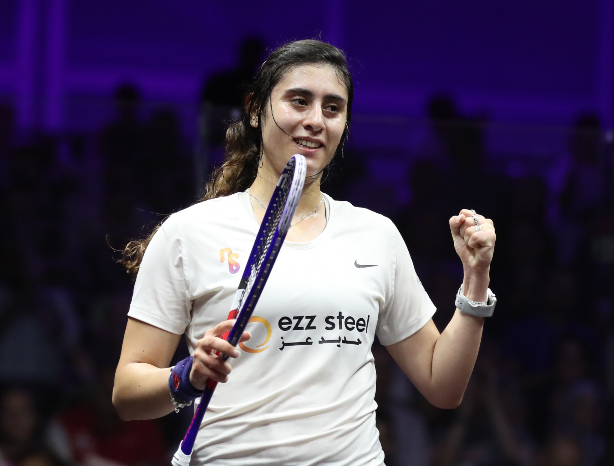 Nour El Sherbini is aiming for a fifth world title in Chicago ©Getty Images