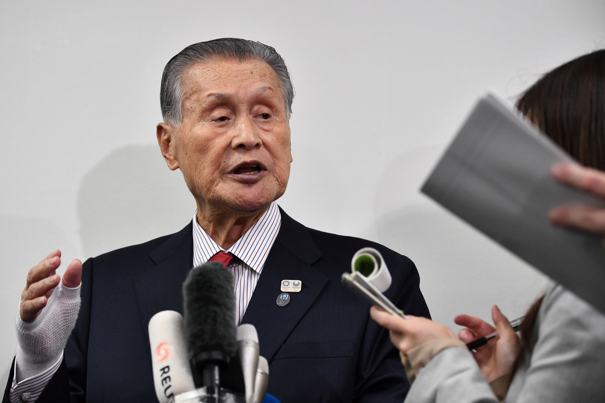 """Tokyo 2020 President Yoshirō Mori has claimed the Olympic and Paralympic Games will take place next year """"no matter what happens"""" ©Getty Images"""