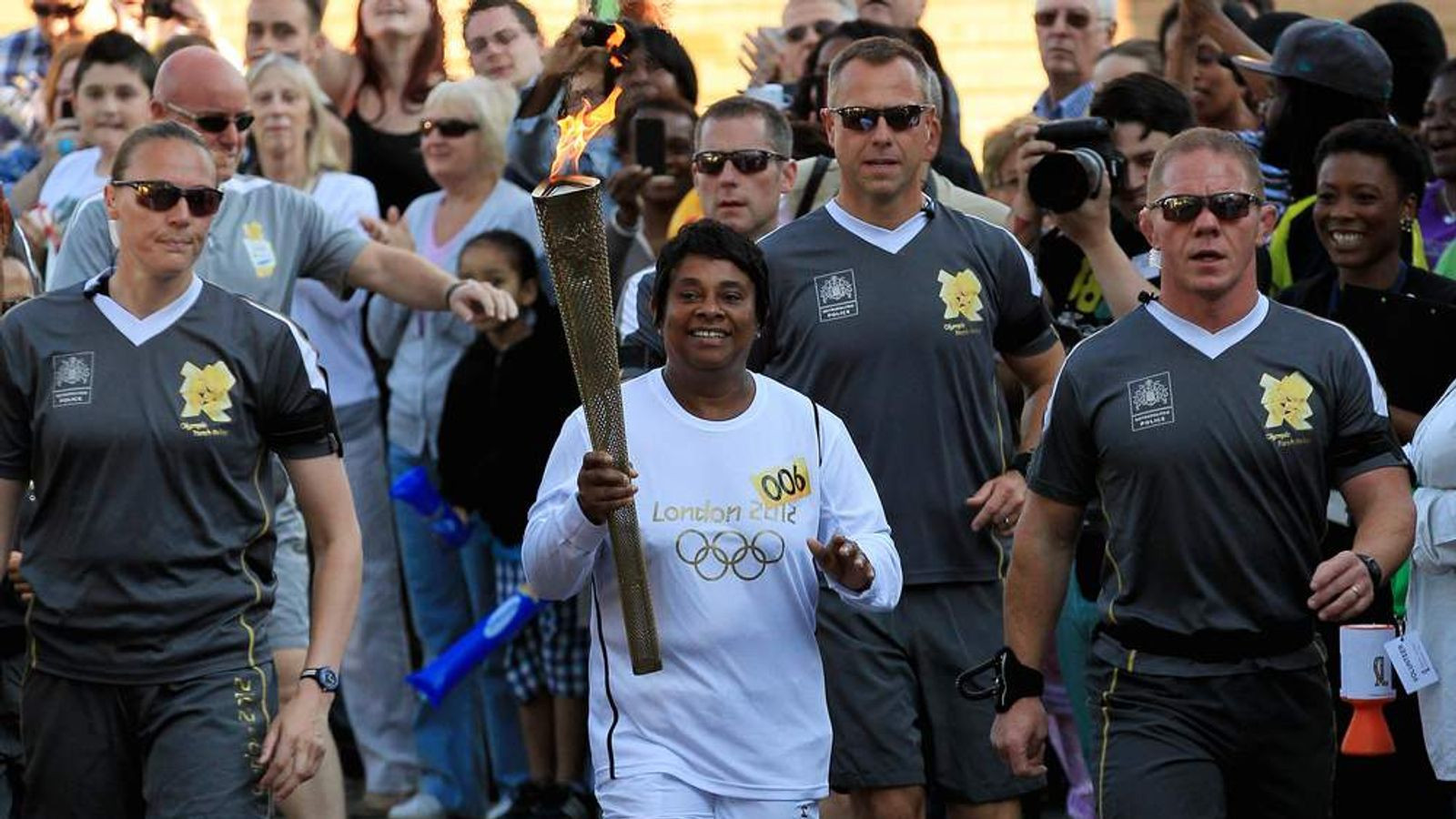 Premier Sheet Metals in Warwickshire made a total of 11,000 copies of the London 2012 Torch ©Getty Images