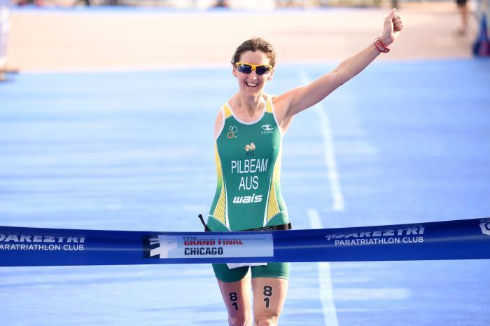 Two-time Paratriathlon world champion Pilbeam announces retirement