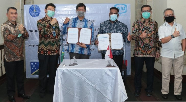 A contract between the 2023 Pacific Games in the Solomon Islands and the Indonesian company WIKA to build a multi-purpose sports hall has finally been signed ©WIKA