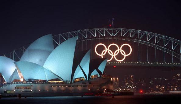 Sydney Harbour Bridge Olympic Rings put up for sale on eBay for second time