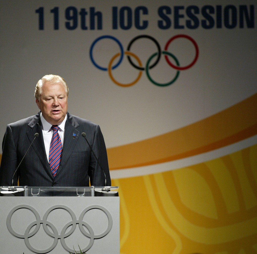 Russia's Vitaly Smirnov, pictured at the 2007 IOC Session in Guatemala City, is now an honorary member ©Getty Images
