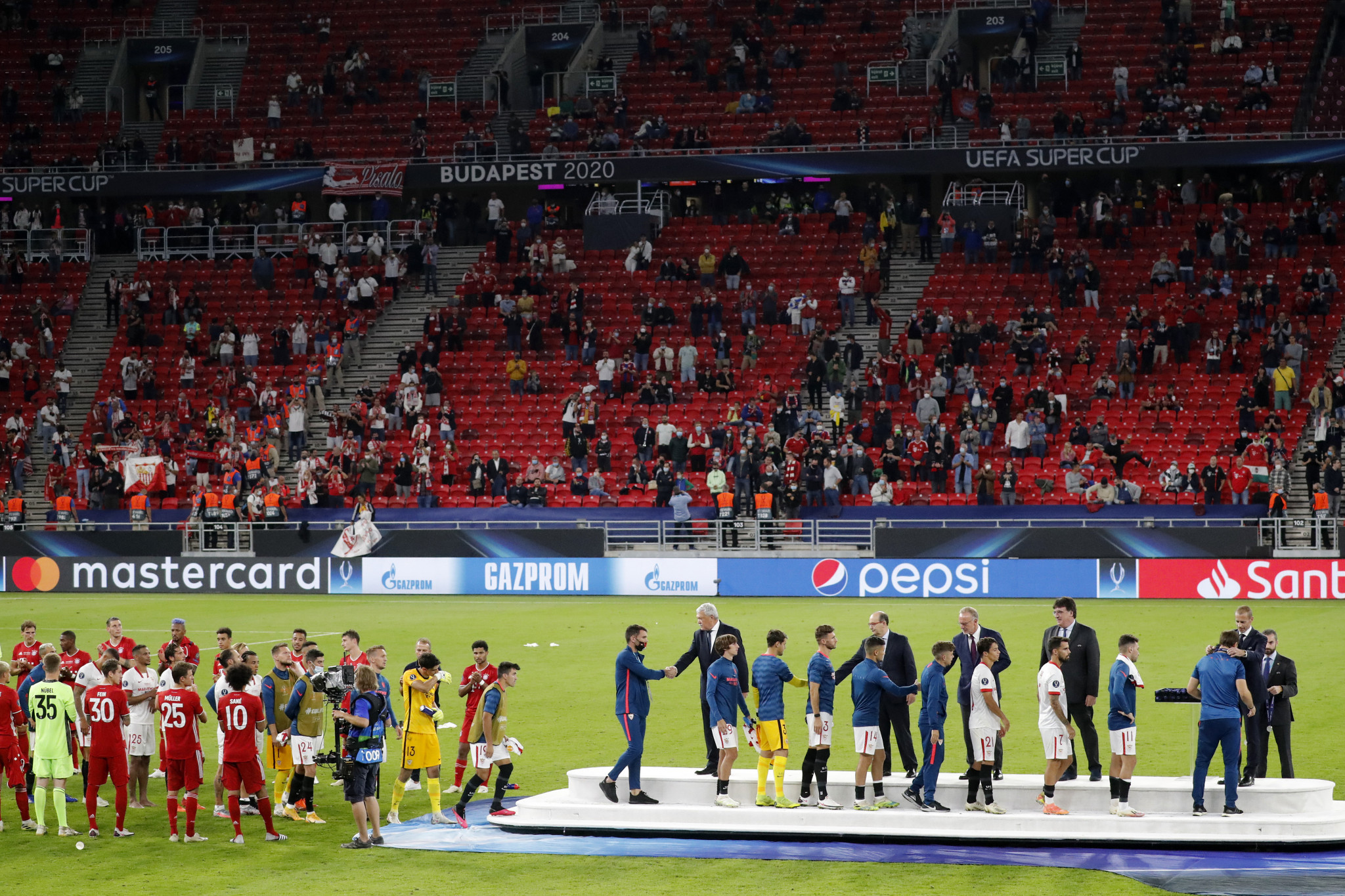 UEFA approves partial return of fans subject to approval of local authorities