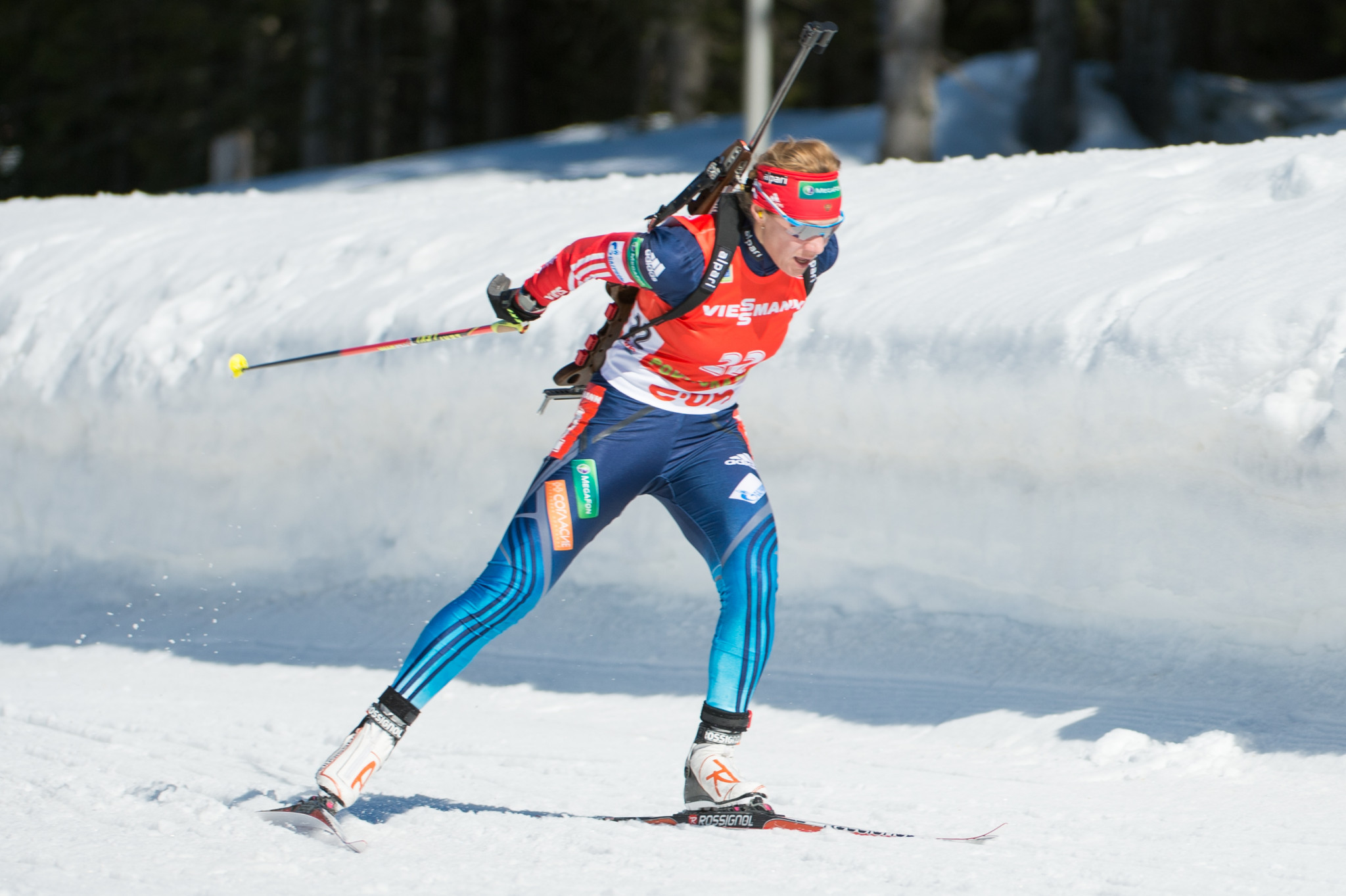 Former biathlon coach claims Zaitseva's individual results suggest she was not doping at Sochi 2014