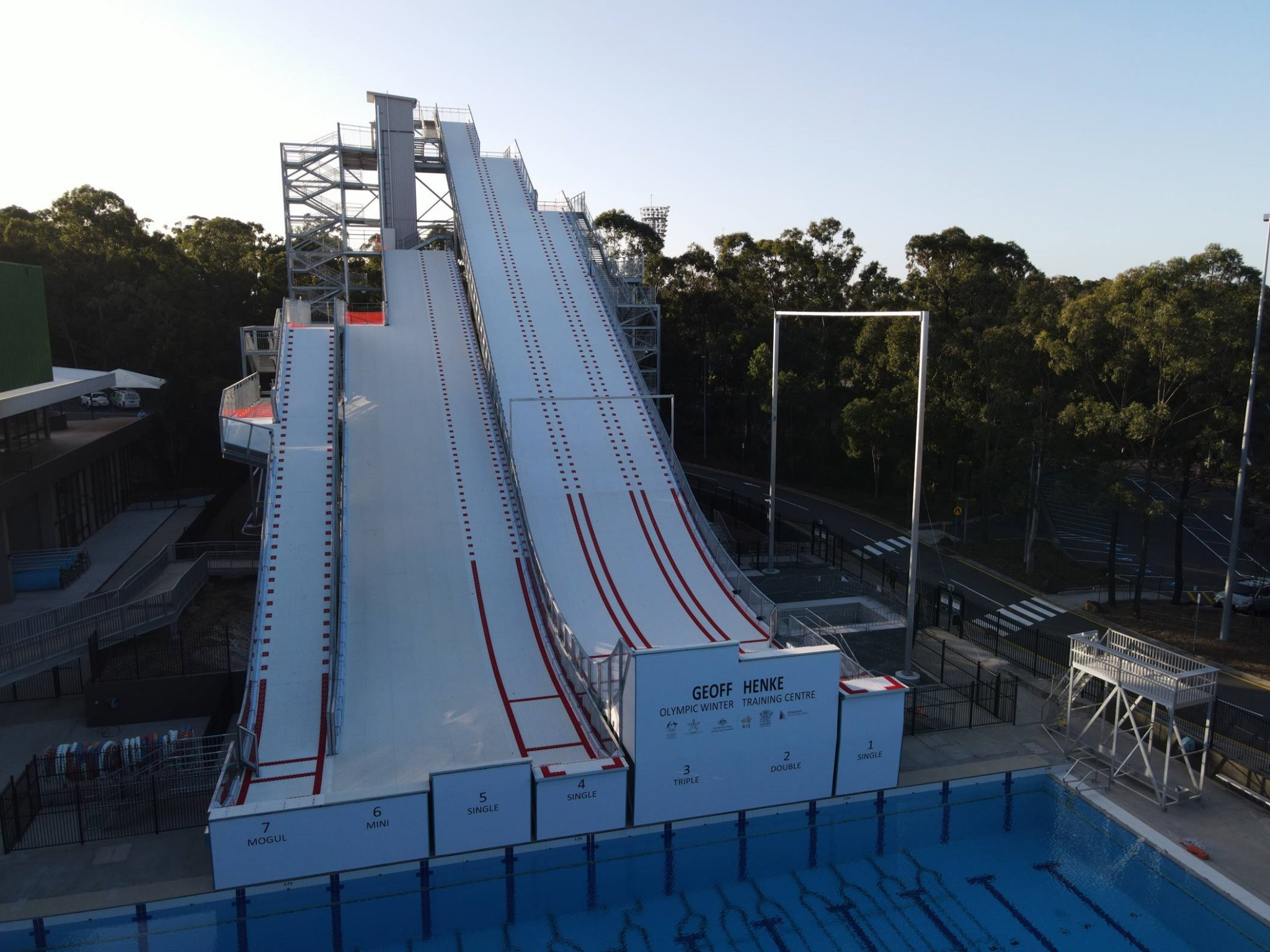 Brisbane is the home of Australia's new Olympic Winter Training Centre ©AOC