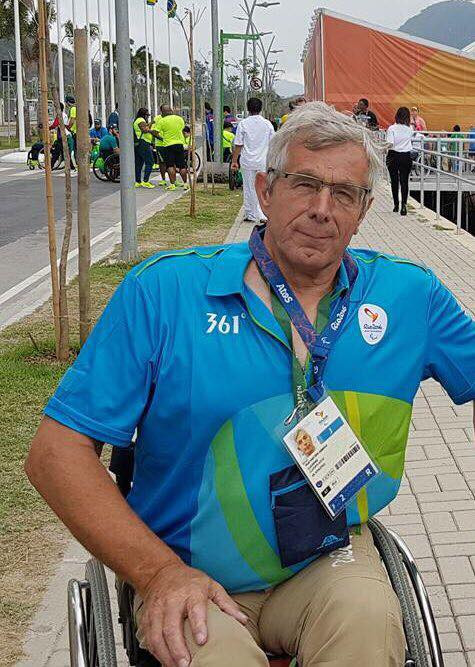 IWAS President Rudi Van Den Abbeele said he hoped Thailand would host a future IWAS World Games ©Facebook