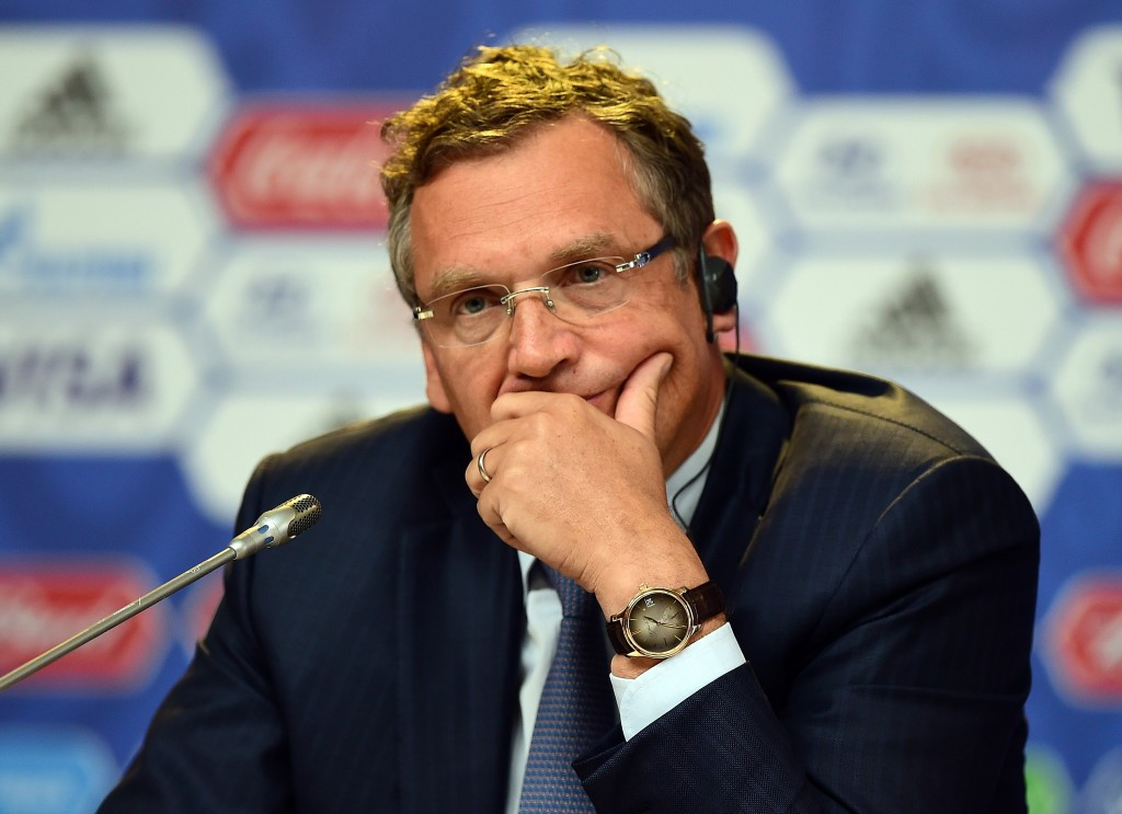 The investigatory chamber has recommended suspended FIFA secretary general Jérôme Valcke be banned for nine years ©Getty Images
