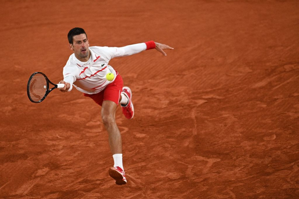 Novak Djokovic eased into the fourth round of the French Open ©Getty Images