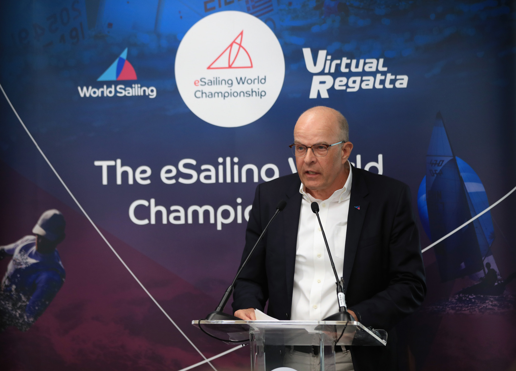 Almost 10 per cent of World Sailing members are currently ineligible to vote in the Presidential election, where incumbent Kim Andersen is aiming for another term ©Getty Images