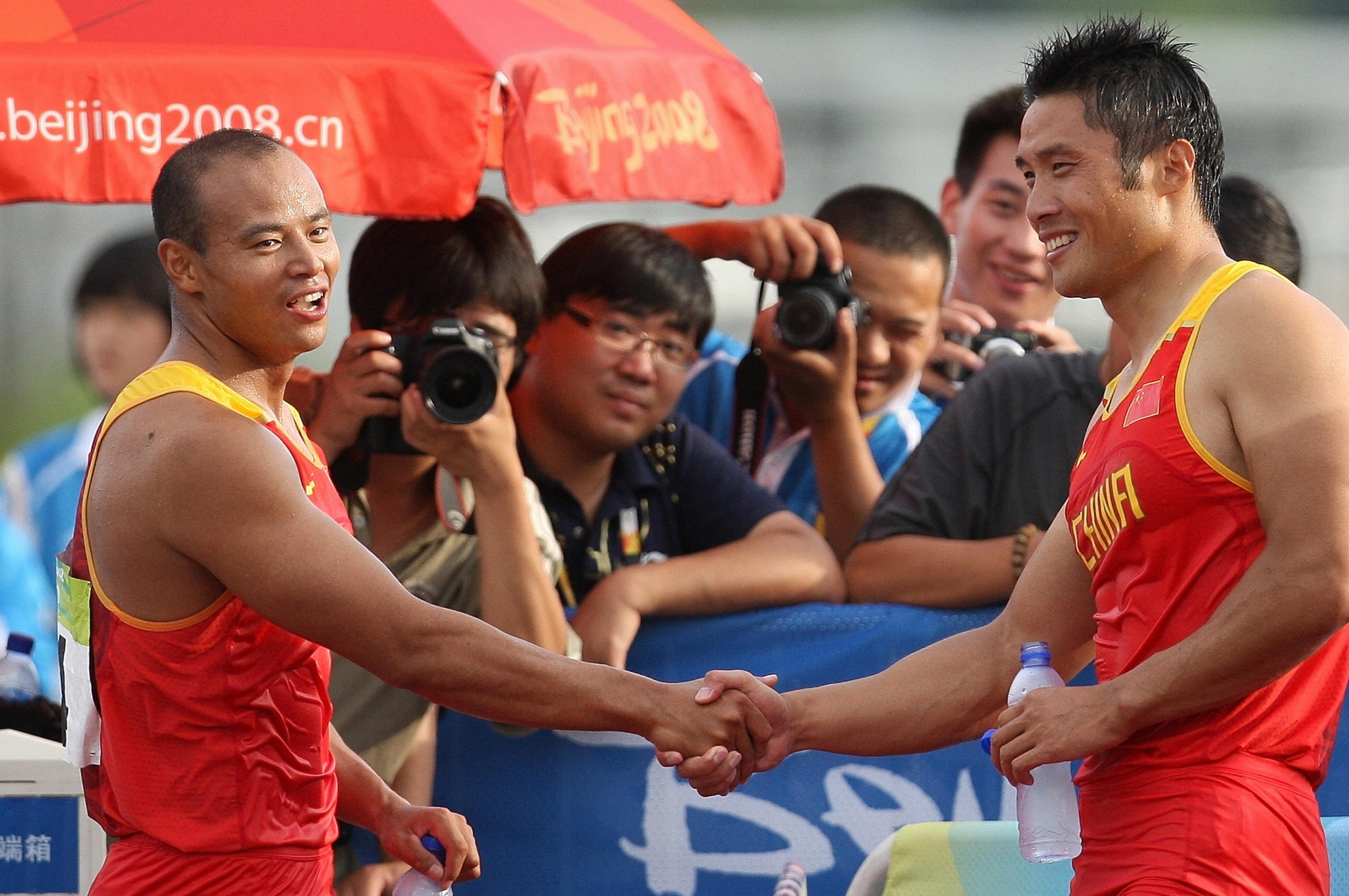 Yang Wenjun and Meng Guanliang are China's most decorated canoeists ©Getty Images