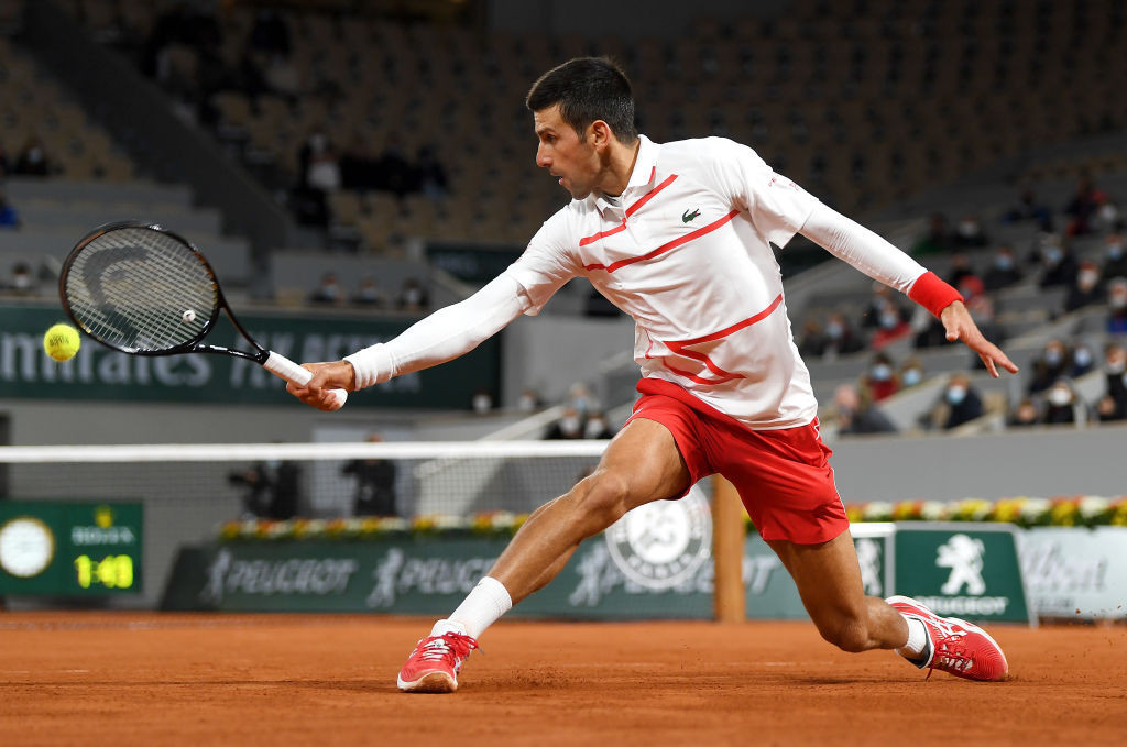 Novak Djokovic has made a controversial call over the use of line judges in tennis ©Getty Images