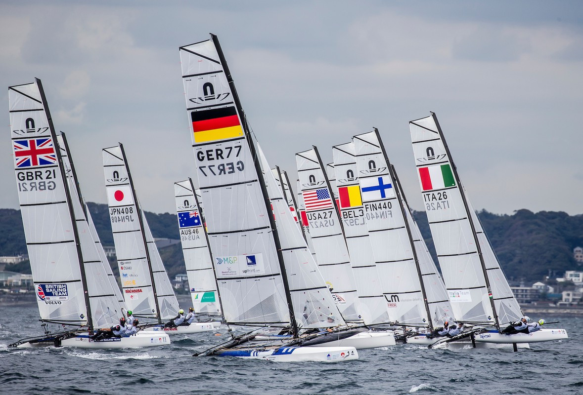 World Sailing chief executive David Graham has claimed the governing body has had no formal communication from the IOC ©World Sailing