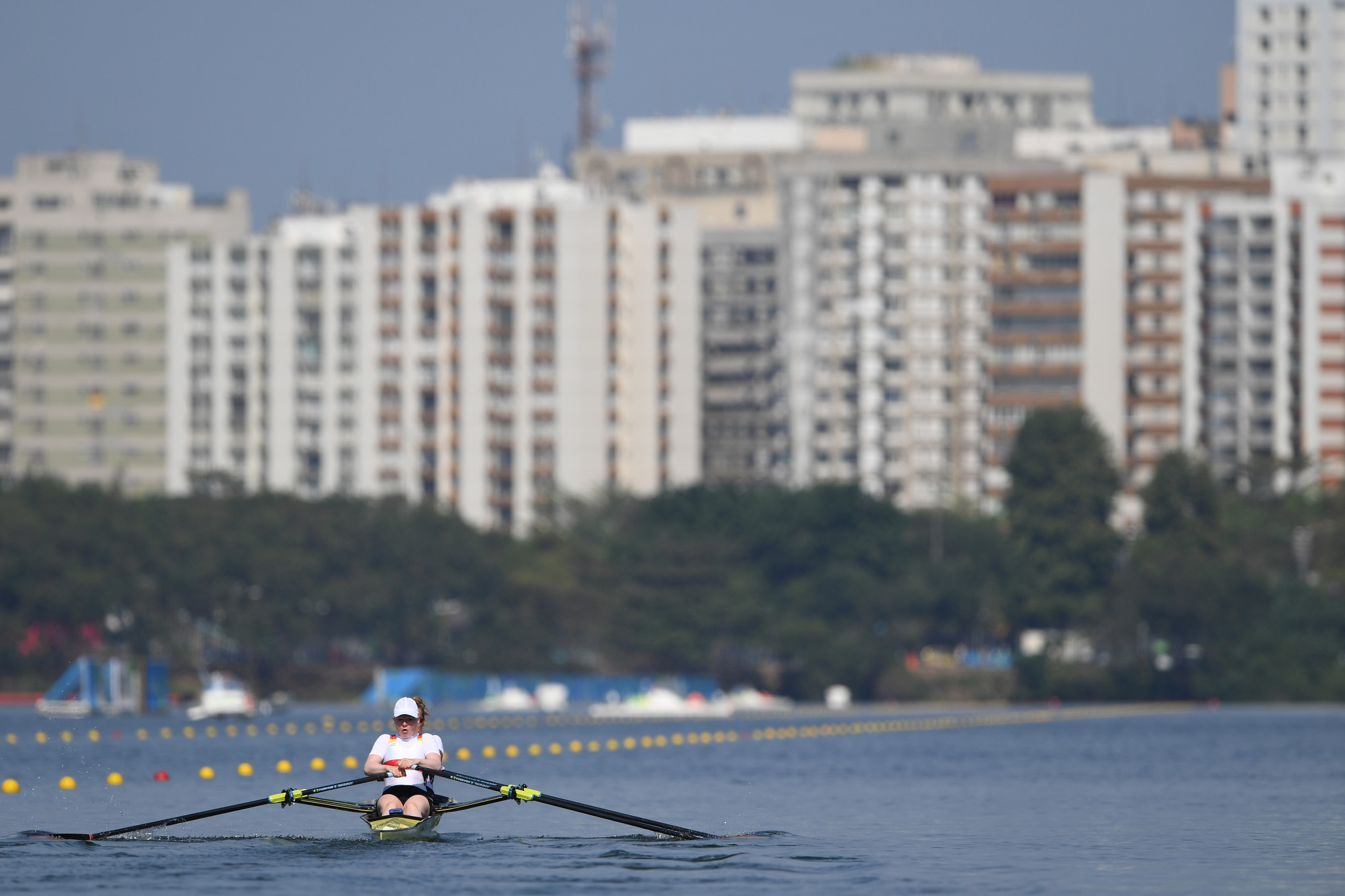 Rower Marie-Catherine Arnold was part of the working group which discussed Rule 50 ©Getty Images