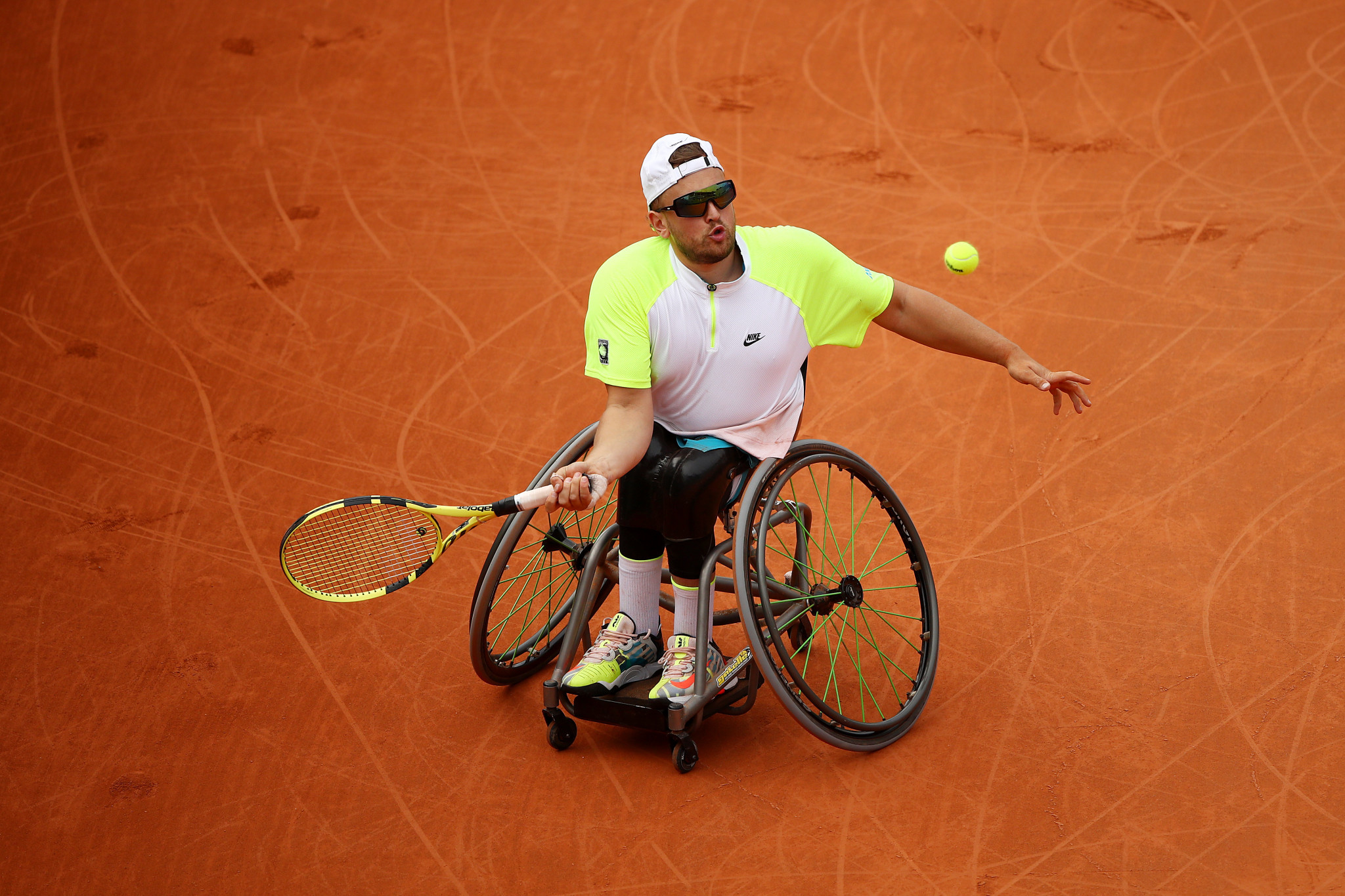 Defending wheelchair singles champions knocked out on dramatic day at French Open