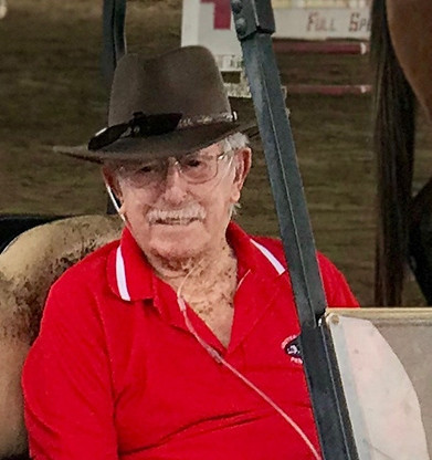The United States' John Russell, a former show jumper who won an Olympic bronze medal at Helsinki 1952, has died at the age of 100 ©Team USA
