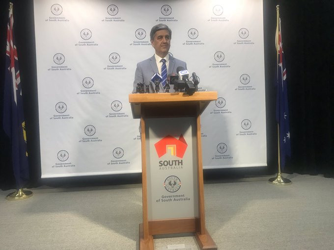 South Australian Government Treasurer Rob Lucas was not convinced by new figures in a PwC report to change his mind about backing a bid for the 2026 Commonwealth Games ©Twitter