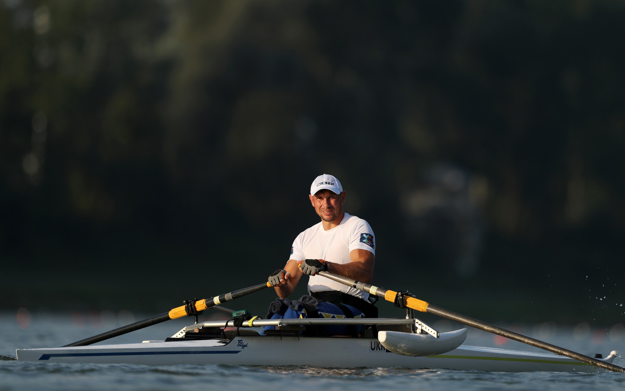 Roman Polianskyi will aim to secure victory in the men's single sculls PR1 competition ©Getty Images