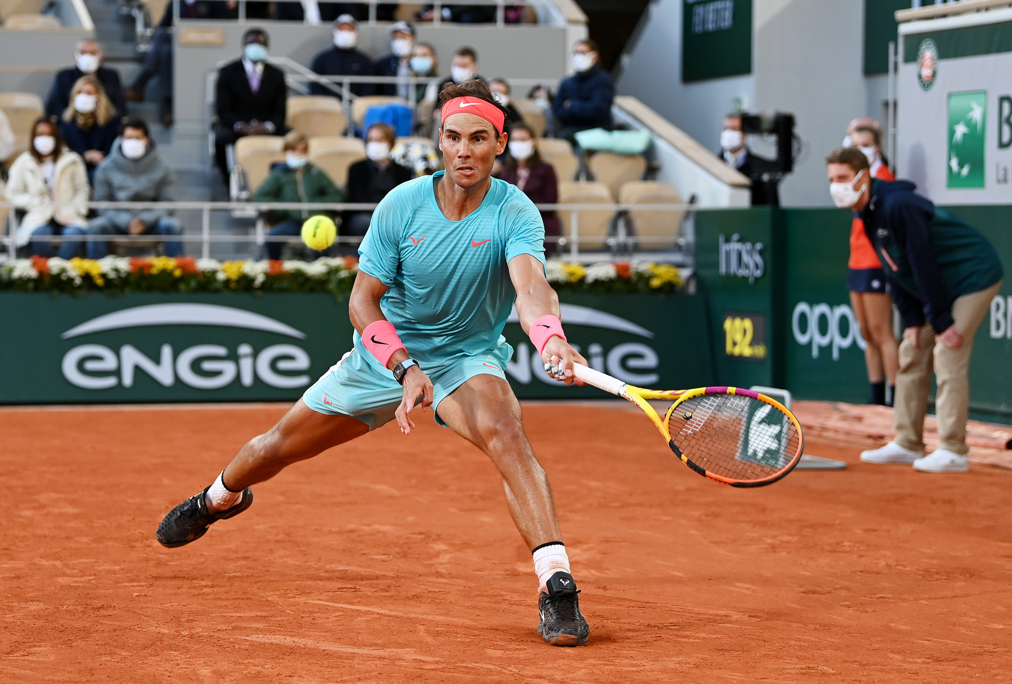 Nadal has not dropped a set in Paris this fortnight ©Getty Images