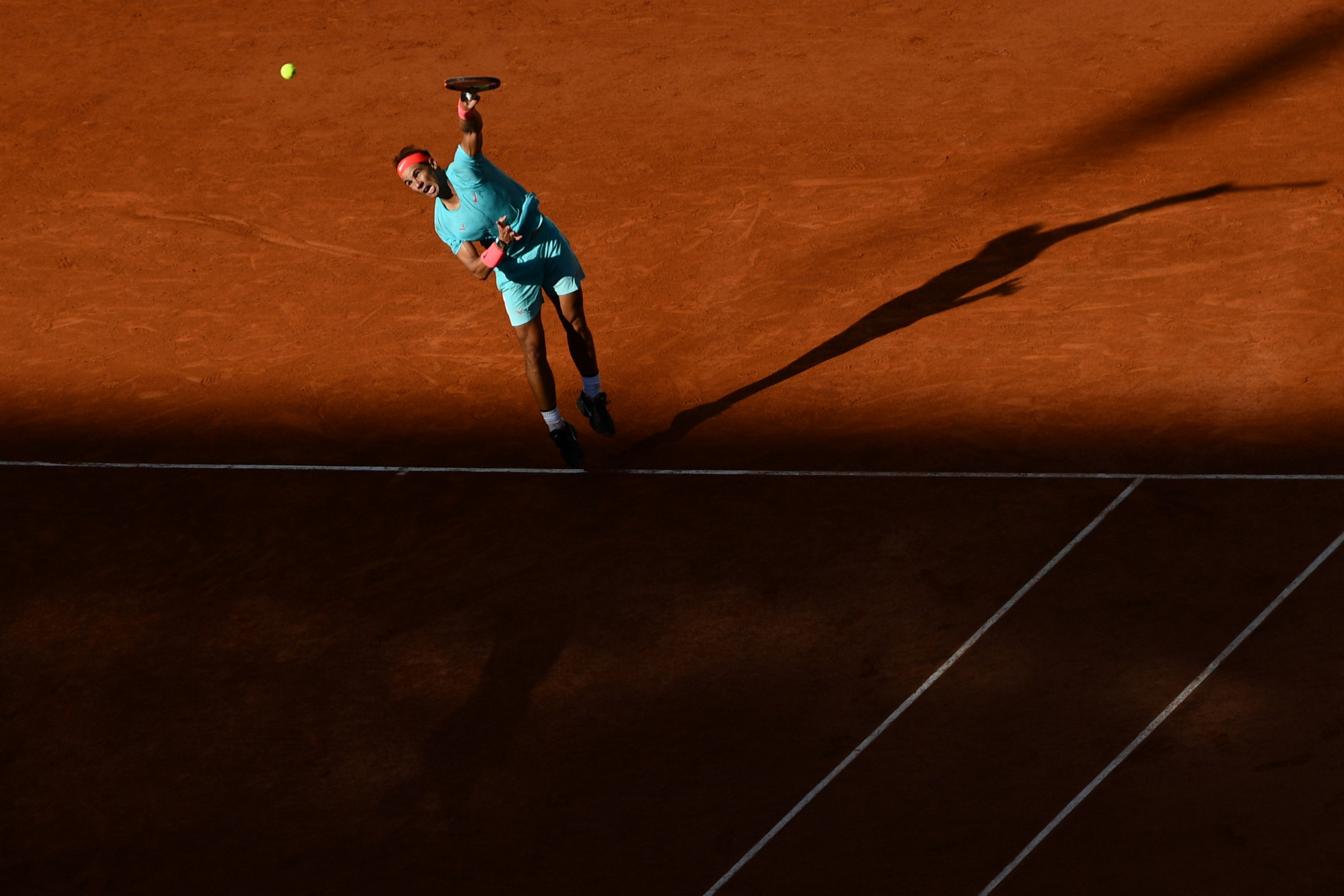 Should Nadal win the final, he will equal the record of 20 men's singles Grand Slam titles ©Getty Images