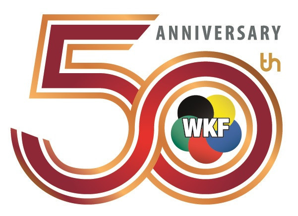 WKF recently celebrated its 50th anniversary ©WKF