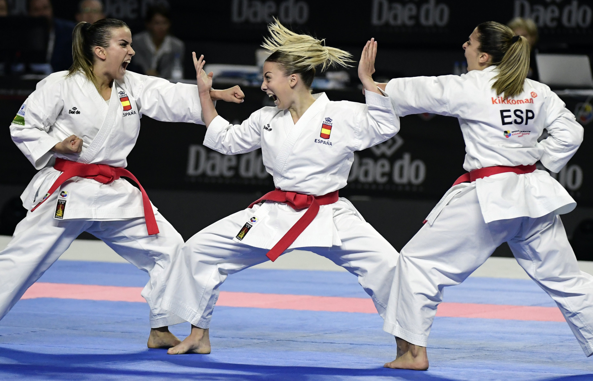 Karate is poised to make its Olympic debut at Tokyo 2020 ©Getty Images