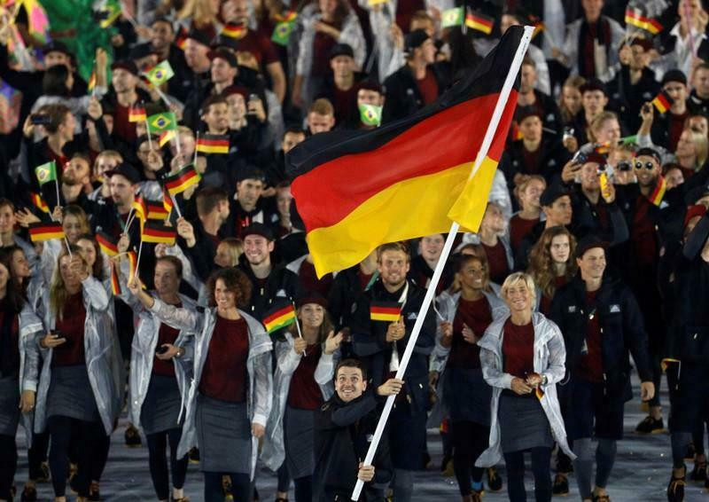 German flag used at Rio 2016 Opening Ceremony up for sale on eBay