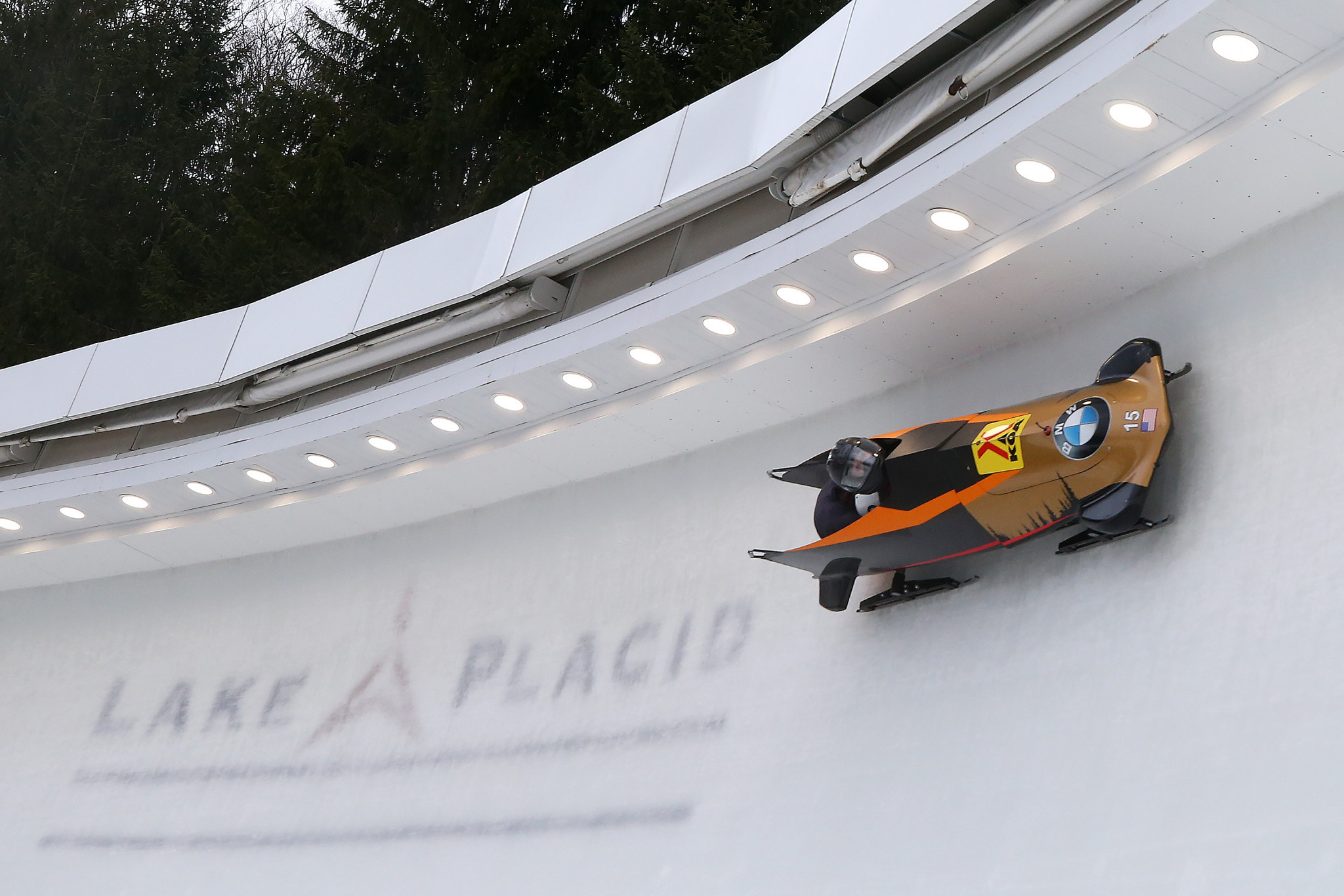 The United States' bobsleigh and skeleton teams are due to begin training in Lake Placid next month ©Getty Images