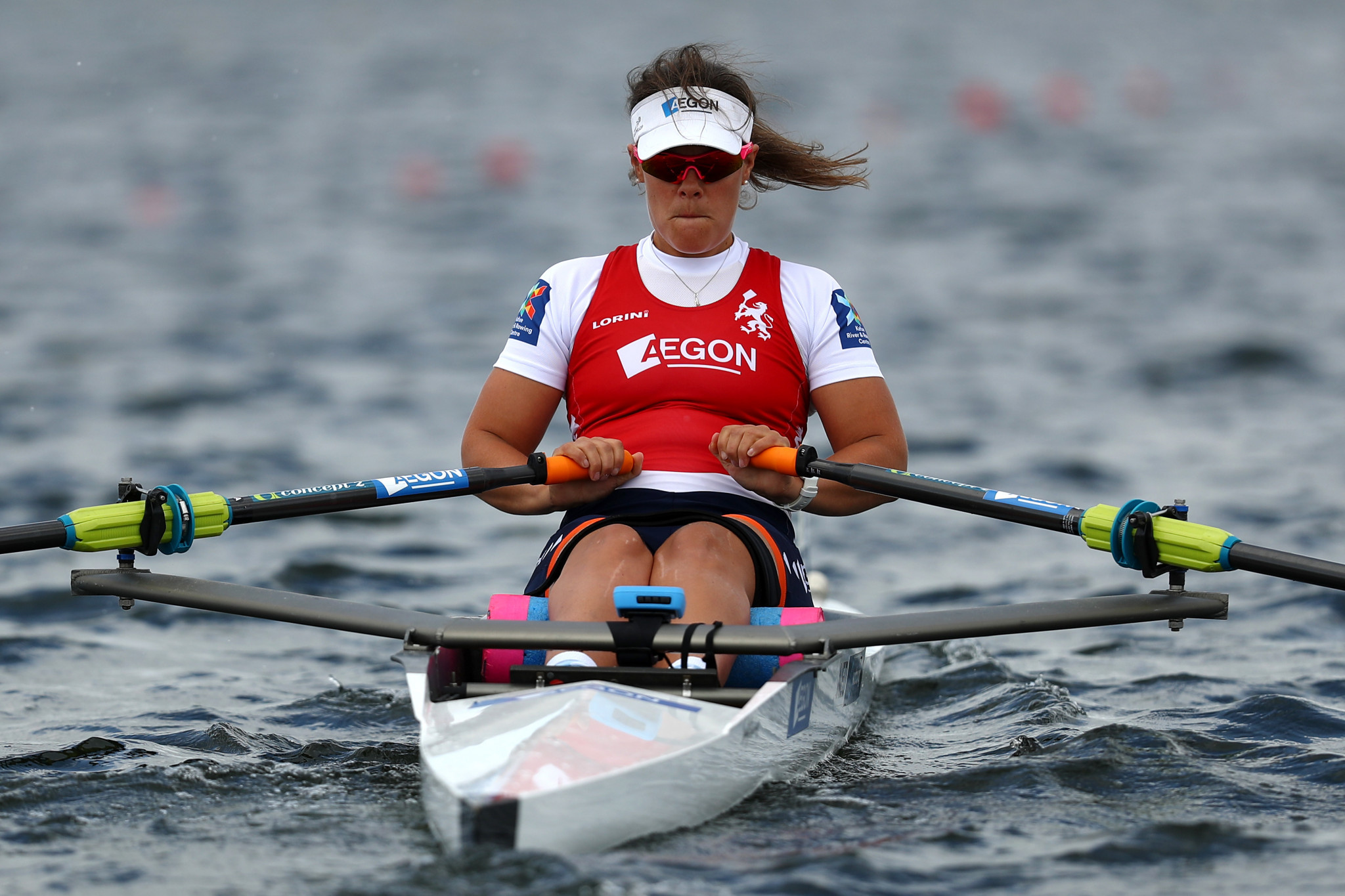 Paralympic champion Annika van der Meer teamed up with Corne de Koning to win a European title in Poland ©Getty Images