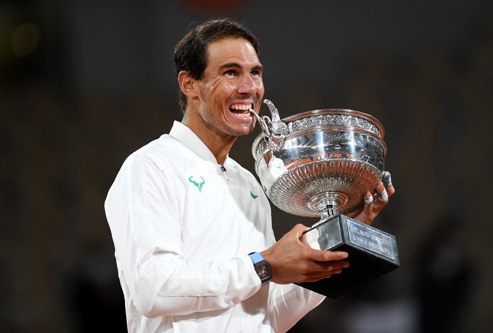 Nadal draws level with Federer on 20 Grand Slam singles titles after more joy at Roland Garros