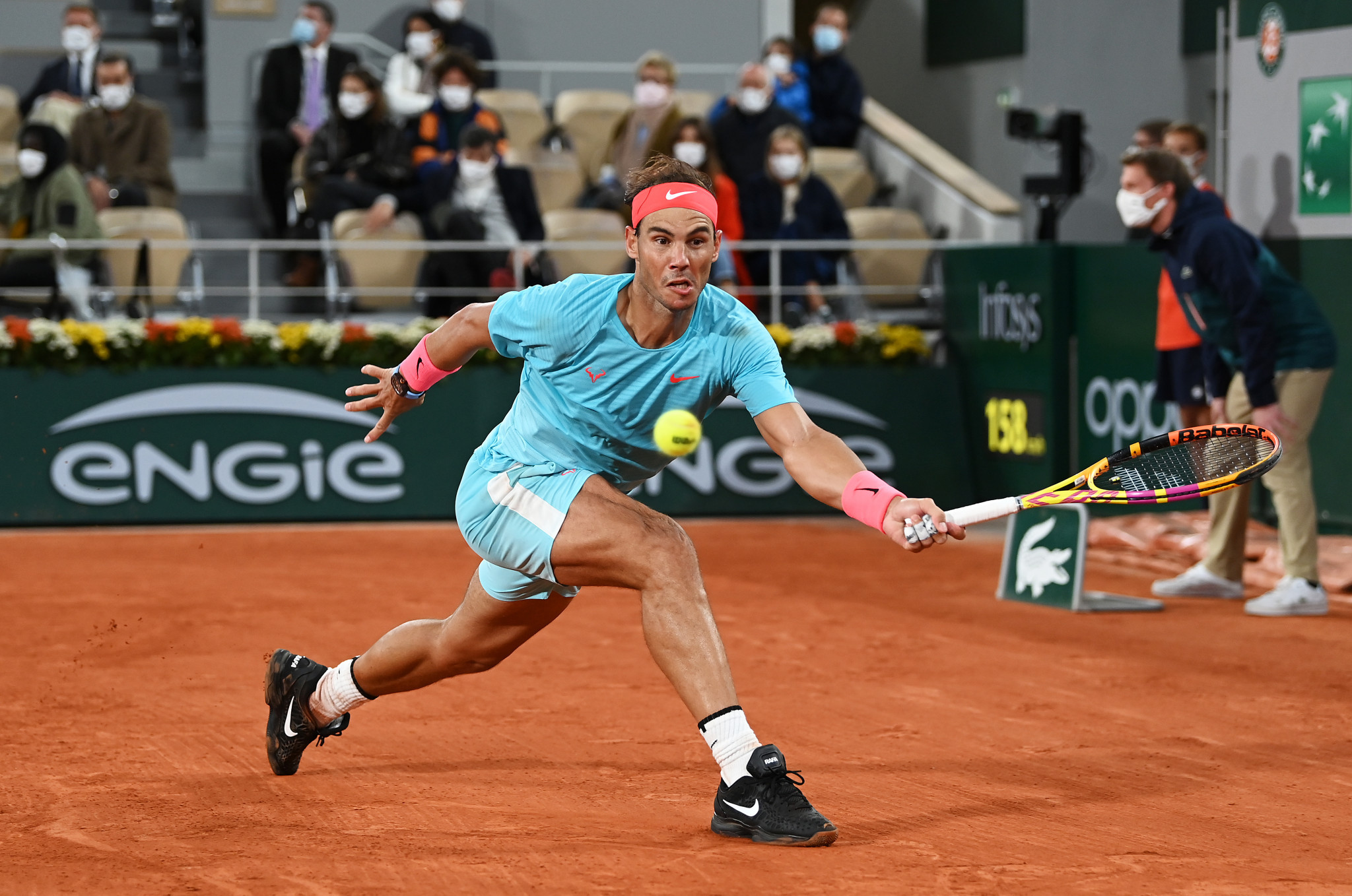 Nadal was in sensational form as he dropped just two games in the opening two sets ©Getty Images