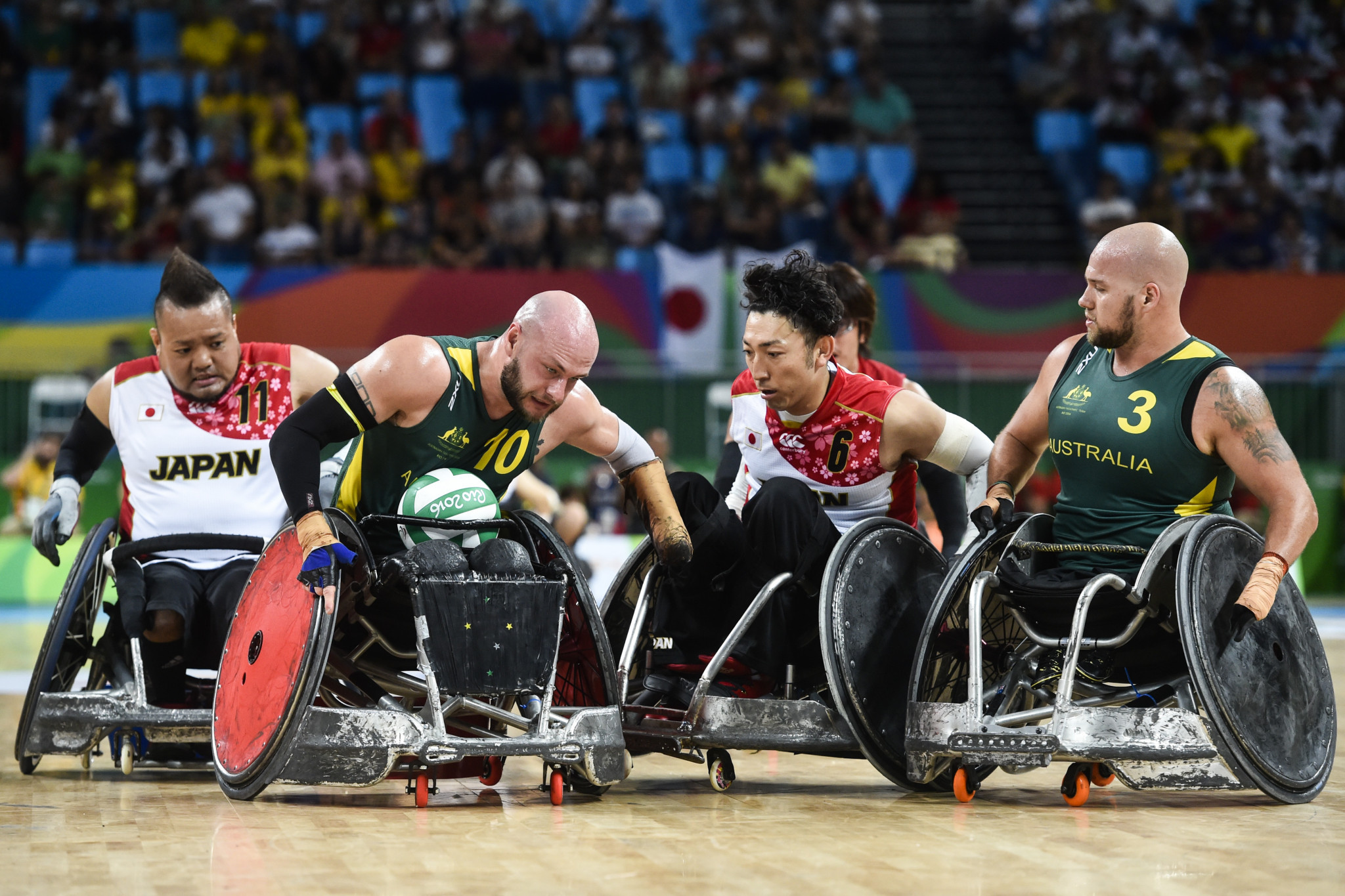 There is no change to wheelchair rugby's competition regions ©Getty Images