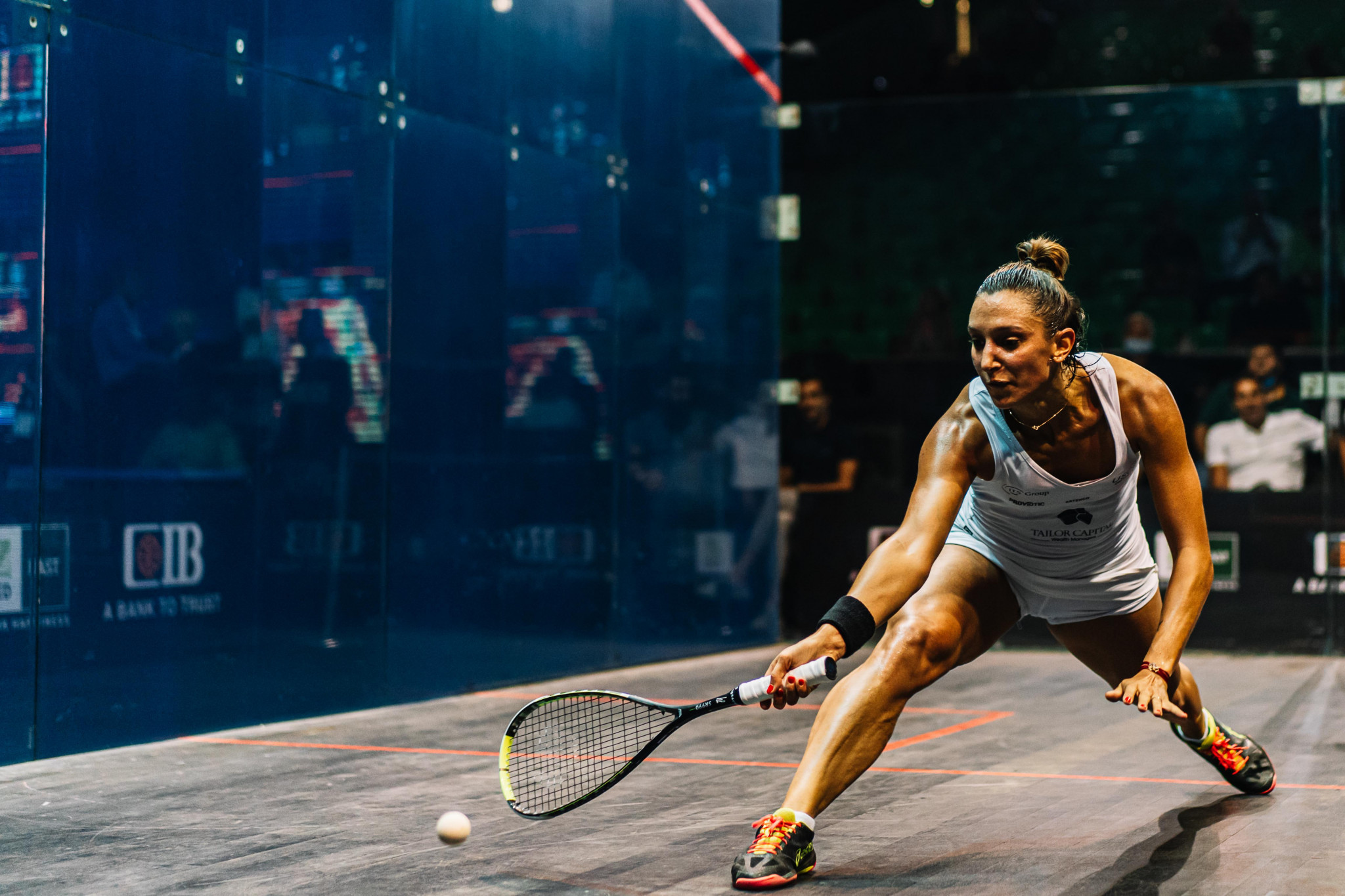 Farag and Serme both come from behind to reach Egyptian Open quarter-finals