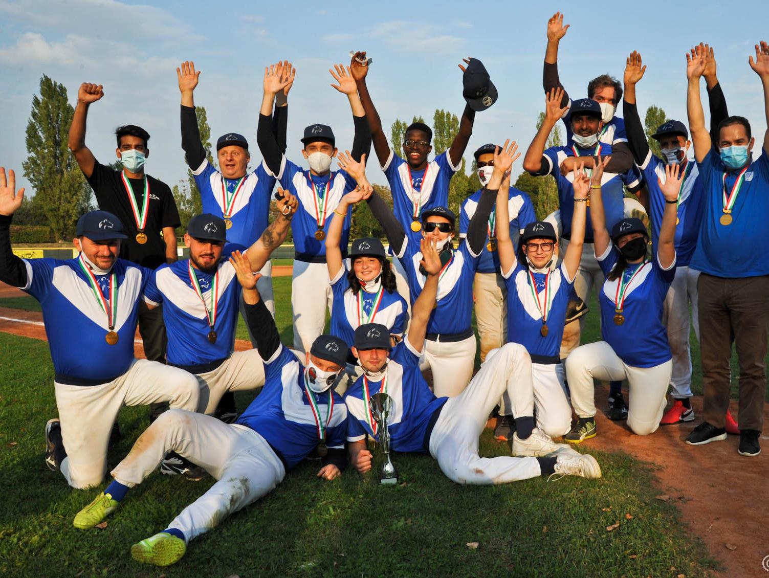 Leonessa Brescia triumphed in the final of the Italian Baseball for the Blind Championship ©Lauro Bassani/AIBxC