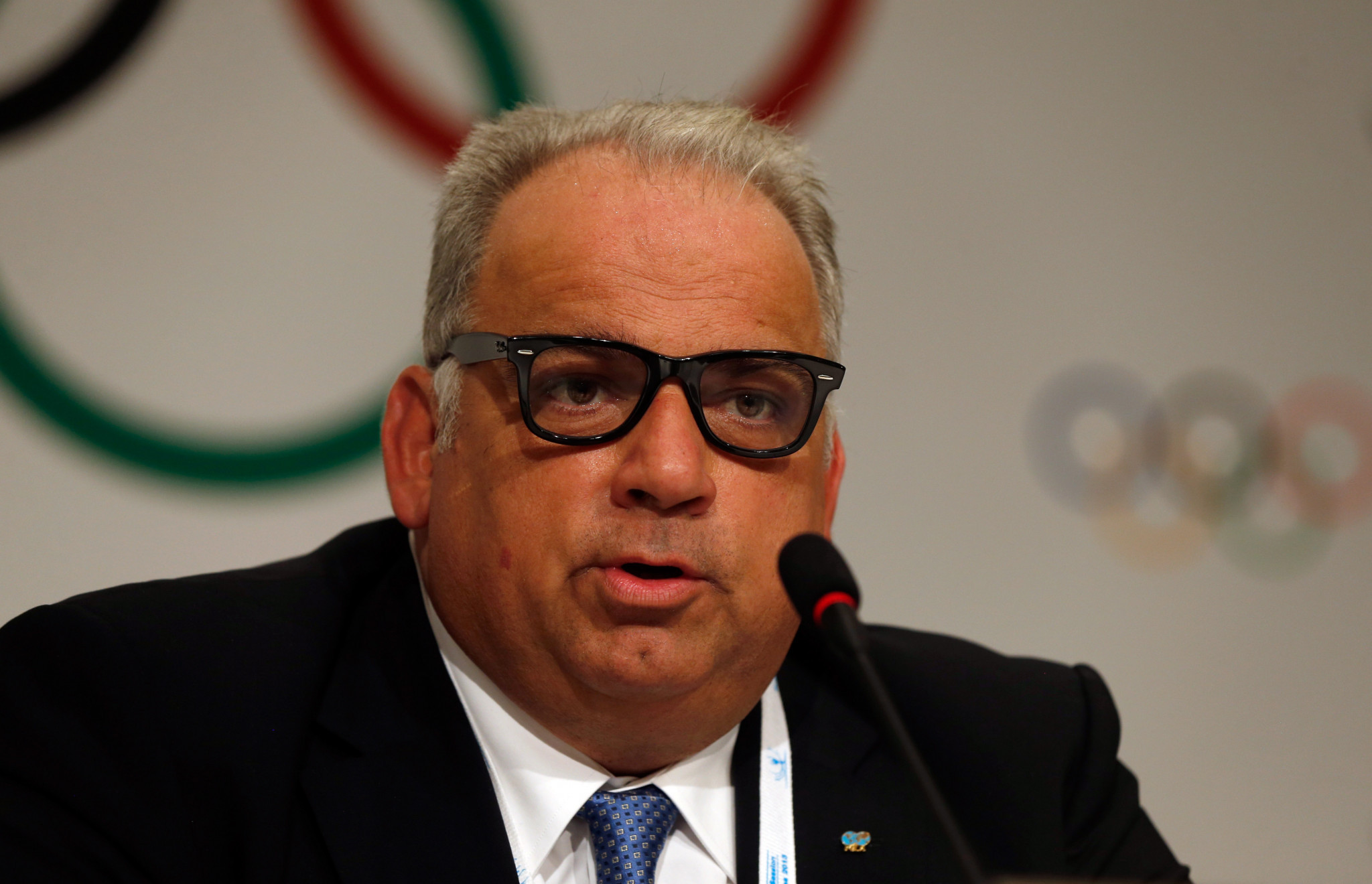 UWW President Nenad Lalovic is hopeful the World Championships will go ahead in December ©Getty Images