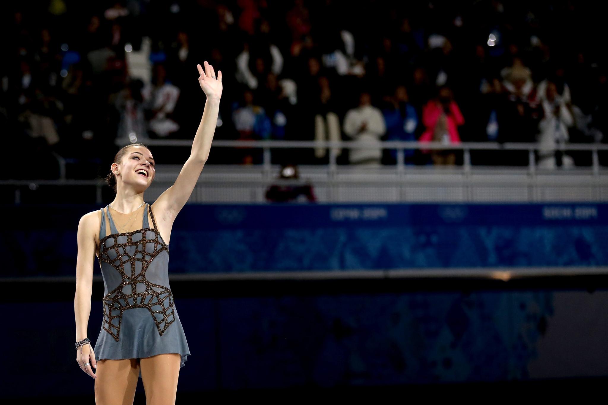 Sochi 2014 champion Sotnikova launches figure skating school