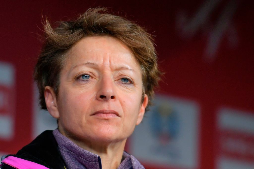 Sarah Lewis was removed as secretary general by the FIS Council last week ©Getty Images