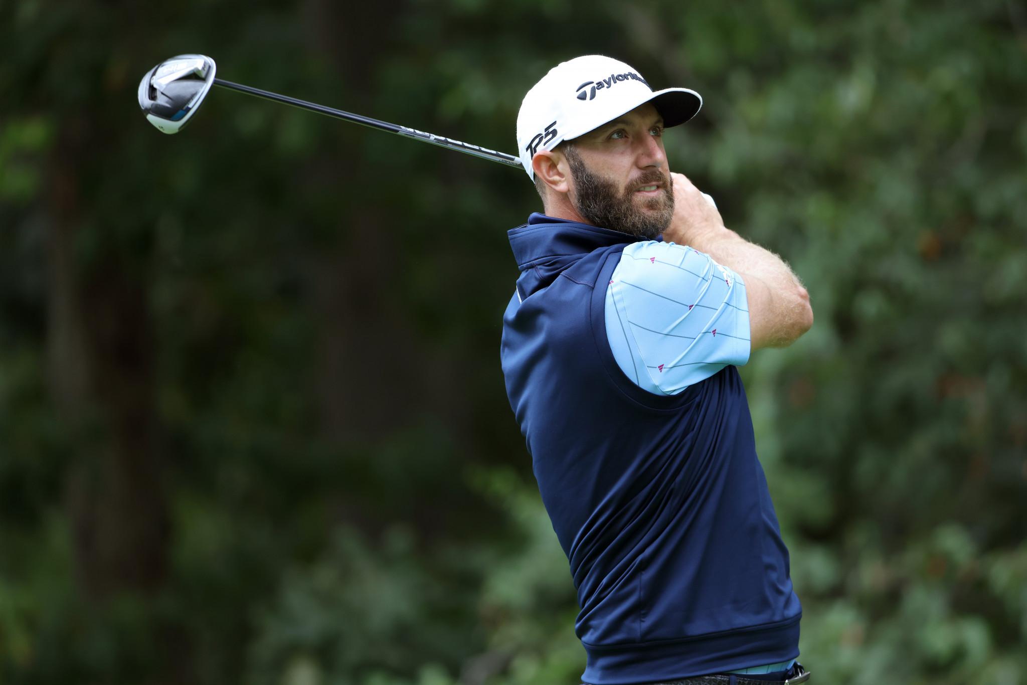 World number one golfer Dustin Johnson has tested positive for coronavirus ©Getty Images