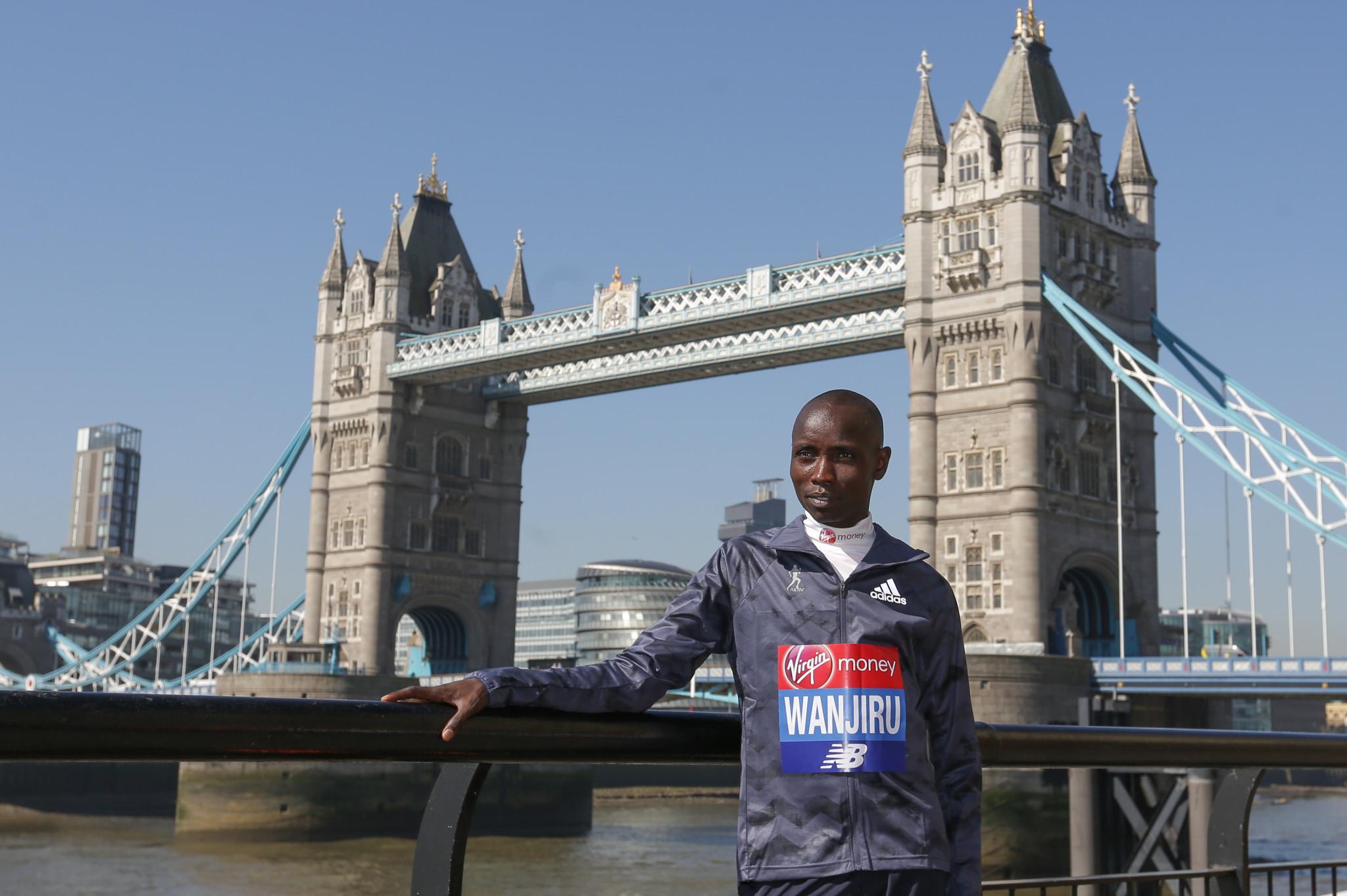 Former London Marathon winner Wanjiru given four-year doping ban