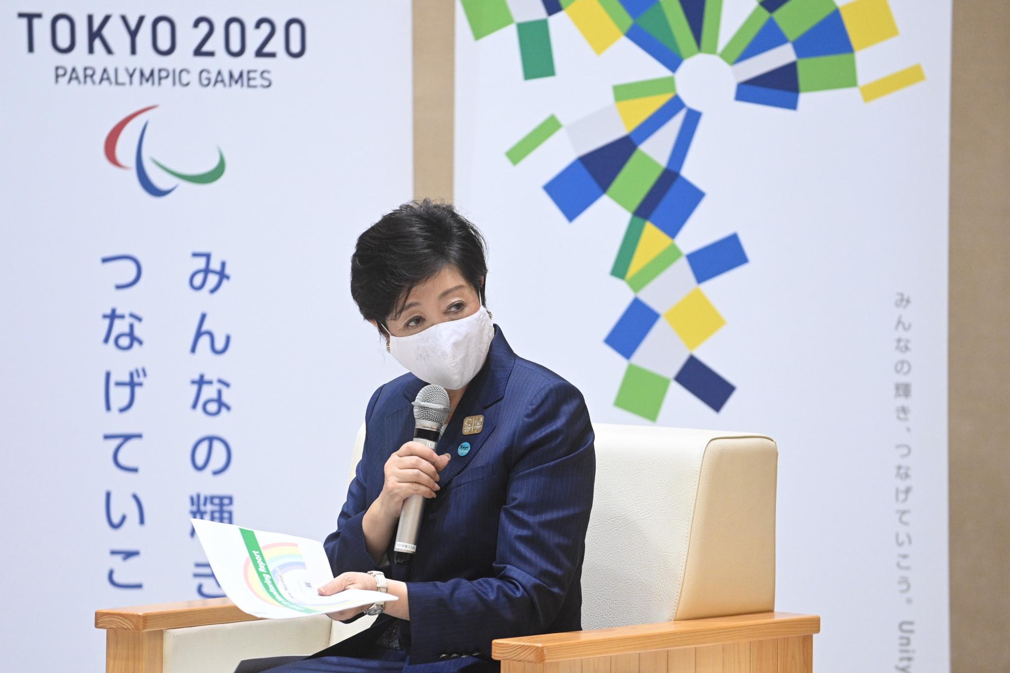 Tokyo Governor Koike to attend grand opening of Aquatics Centre