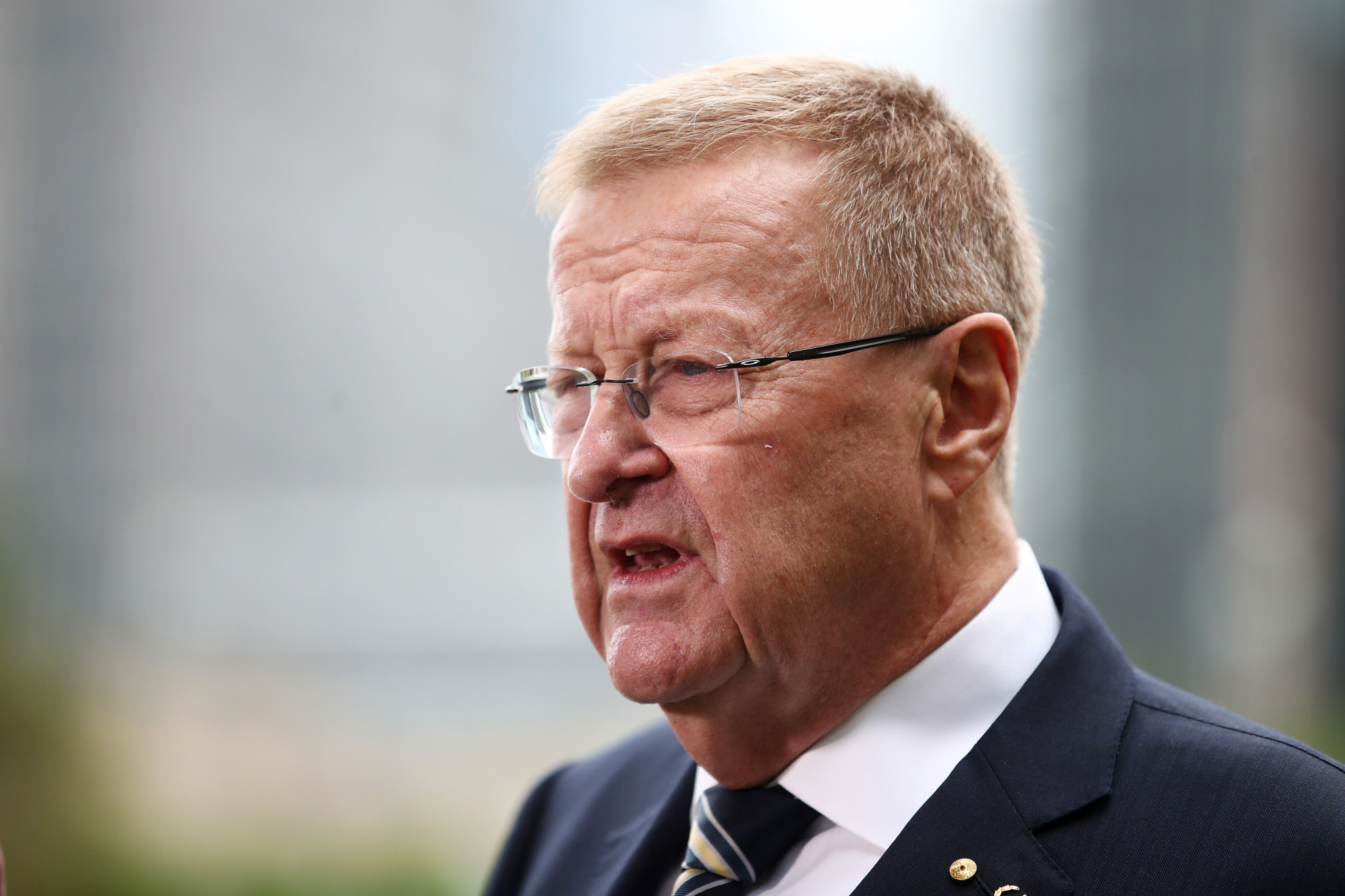 AOC President John Coates has claimed the amendment could lead to the AOC being suspended ©Getty Images